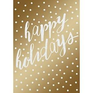 Design Design Happy Holidays Greeting Cards 14's